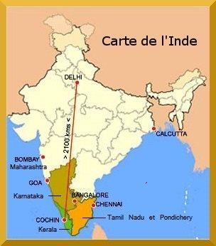 Carte De Linde Du Sud Cochin.Decouvrir L Inde Du Sud Avec Kst Tours